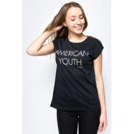 Футболка женская Calvin Klein Jeans, цвет: черный. J20J207025_0990. Размер XS (40/42)