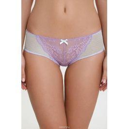 Трусы-слипы женские Infinity Lingerie Lusia, цвет: белый, фиолетовый. 31204121233_8000. Размер XXL (52)