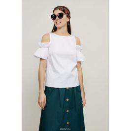 Блузка женская Zarina, цвет: белый. 8225087317001. Размер 50