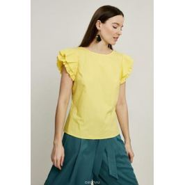 Блузка женская Zarina, цвет: желтый. 8225072302009. Размер 42