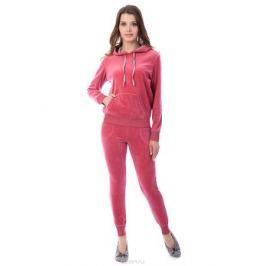 Домашний комплект женский Melado Адель: брюки, худи, цвет: розовый. MB2891/01. Размер 48