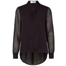 Блузка женская Vero Moda, цвет: черный. 10185411_Black. Размер XS (40/42)