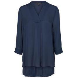 Блузка женская Vero Moda, цвет: синий. 10185885_Navy Blazer. Размер S (42/44)