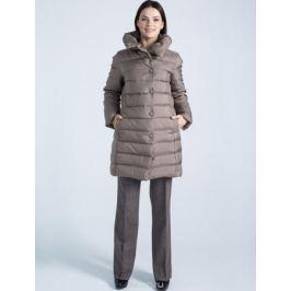 Пальто женское Defreeze, цвет: кофейный. 72-152_coffee. Размер 50