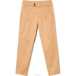 Брюки женские United Colors of Benetton, цвет: коричневый. 4DMP55624_7B5. Размер 42 (44)