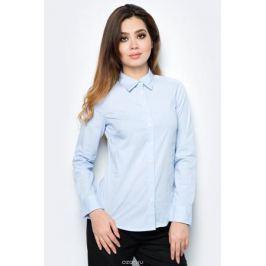 Рубашка жен United Colors of Benetton, цвет: голубой. 5BRP5Q0V5_960. Размер XL (48/50)