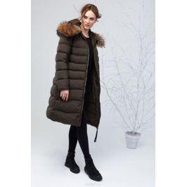 Куртка женская Clasna, цвет: темно-зеленый. CW17D-031CH. Размер XL (48) Женская одежда