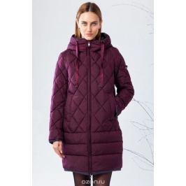 Куртка женская Clasna, цвет: бордовый. CW17D-063CW. Размер XXL (50) Женская одежда
