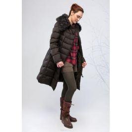 Куртка женская Clasna, цвет: темно-зеленый. CW17D-086CQ. Размер XL (48) Женская одежда