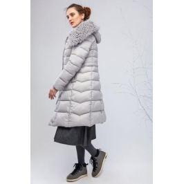 Куртка женская Clasna, цвет: светло-серый. CW17D-086CQ. Размер XL (48) Женская одежда