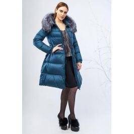 Куртка женская Clasna, цвет: бирюзовый. CW17D-133DP. Размер M (44)
