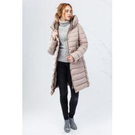 Куртка женская Clasna, цвет: бежевый. CW17D-002ACQ. Размер L (46) Женская одежда
