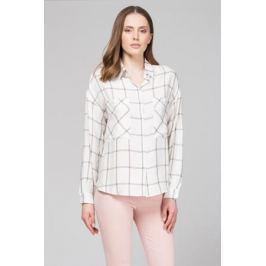 Блузка женская Tom Farr, цвет: молочный. TW7580.30702-1-coll. Размер XS (42) Женская одежда