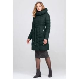 Пуховик женский Tom Farr, цвет: зеленый. T4FW3689.76810-1. Размер L (48) Женская одежда