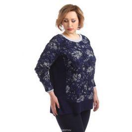 Блузка женская Averi, цвет: синий. 1326_529. Размер 64 (68) Женская одежда