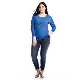 Лонгслив женский Averi, цвет: синий. 1320_028. Размер 64 (66) Женская одежда