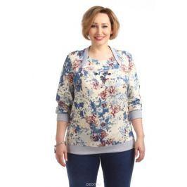 Блузка женская Averi, цвет: бежевый. 1330_699. Размер 64 (68) Женская одежда