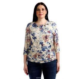 Блузка женская Averi, цвет: бежевый. 1365_699. Размер 64 (68) Женская одежда