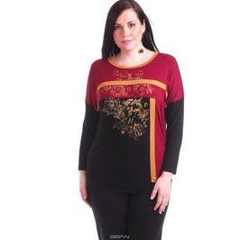 Блузка женская Averi, цвет: вишневый. 1370_070. Размер 64 (68)