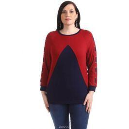 Блузка женская Averi, цвет: бордовый. 1371_025. Размер 64 (68)