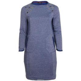 Платье Averi, цвет: синий меланж. 1343_329. Размер 62 (66) Женская одежда