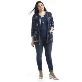 Жакет женский Averi, цвет: синий. 1369_529. Размер 60 (64) Женская одежда