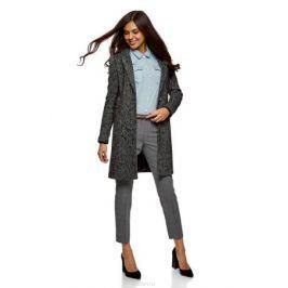 Брюки женские oodji Collection, цвет: серый, черный. 21706024-1/45661/2329C. Размер 38-170 (44-170) Женская одежда
