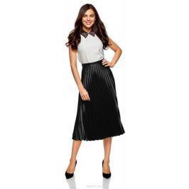 Юбка oodji Ultra, цвет: черный. 13G06001/22112/2929B. Размер 40-170 (46-170) Женская одежда