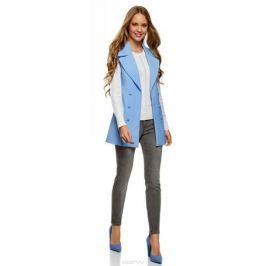 Джинсы женские oodji Ultra, цвет: серый. 12103167/47548/2300W. Размер 26-32 (42-32) Женская одежда