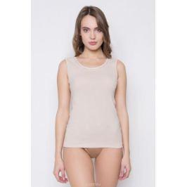 Майка женская Vis-A-Vis, цвет: бежевый. LM1009N. Размер M (46) Женская одежда