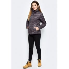 Куртка женская Luhta, цвет: темно-коричневый. 838463340LV_195. Размер 38 (46) Женская одежда