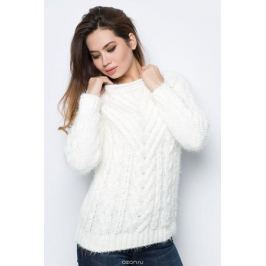 Джемпер женский F5, цвет: белый. 276109_white. Размер M (46)