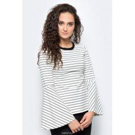 Блузка женская adL, цвет: белый, черный. 11533246000_019. Размер XS (40/42)