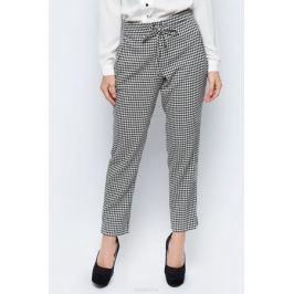 Брюки женские adL, цвет: черный, белый. 15332236000_001. Размер XS (40/42) Женская одежда