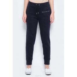Брюки спортивные женские Calvin Klein Jeans, цвет: черный. J20J206403_0990. Размер XS (40/42) Женская одежда