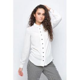 Блузка женская adL, цвет: белый. 13030112002_019. Размер XS (40/42)