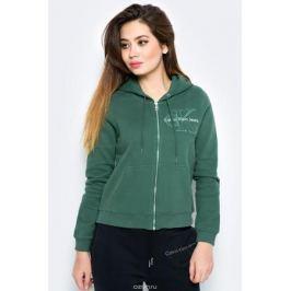 Толстовка женская Calvin Klein Jeans, цвет: зеленый. J20J206570_3470. Размер XL (48/50) Женская одежда