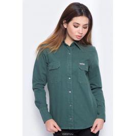 Блузка женская Calvin Klein Jeans, цвет: зеленый. J20J206621_9110. Размер XL (48/50)
