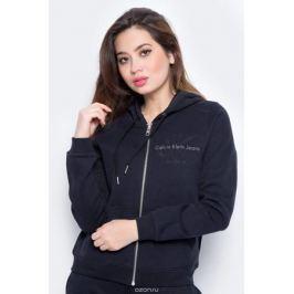 Толстовка женская Calvin Klein Jeans, цвет: черный. J20J206570_0990. Размер M (44/46) Женская одежда