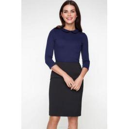 Блузка женская Bestia Vanilla1_b, цвет: темно-синий. 40010260011_600. Размер 48 Женская одежда