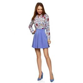 Юбка oodji Ultra, цвет: сиреневый. 11600396-1B/42250/7500N. Размер 36 (42-170) Женская одежда