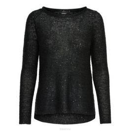 Пуловер женский Only, цвет: черный. 15140216_Black. Размер XS (40/42)