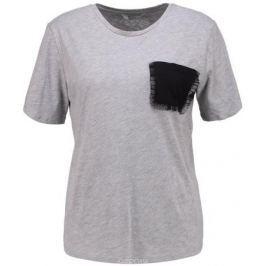 Футболка женская Only, цвет: серый. 15152454. Размер S (42) Женская одежда