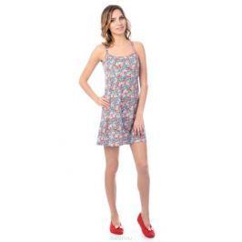 Ночная рубашка женская Melado Эмилия, цвет: голубой. MH2720/01. Размер 50