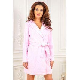 Халат женский Cleo, цвет: розовый. 459. Размер 50 Женская одежда