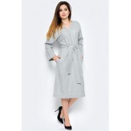 Платье La Via Estelar, цвет: серый. 14121. Размер 54