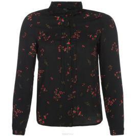Блузка женская Vero Moda, цвет: черный. 10189784_Black. Размер 42/44