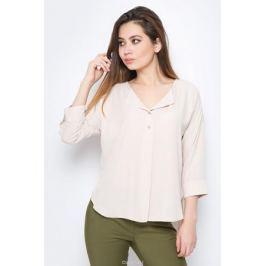 Блузка женская adL, цвет: бежевый. 11528050006_011. Размер XS (40/42)