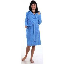 Халат женский Amo La Vita, цвет: голубой. ХМХ0204. Размер 50