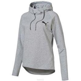 Худи женское Puma ACTIVE ESS Hooded Cover Up W, цвет: серый. 83844304. Размер XXS (38/40)